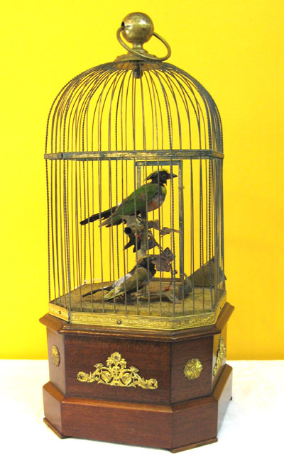 Coin operated Bouble Singing bird
