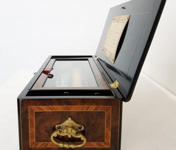 Antique Sublime Harmony Music Box by Bremond. c. 1870
