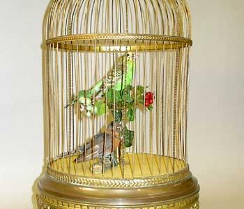 French Double Singing Birds Automaton, c. 1900